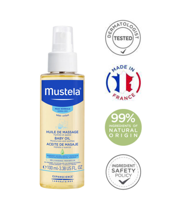 Mustela - Massage Baby Oil