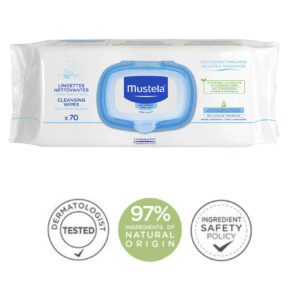 Mustela Normal Skin Cleansing 70 Wipes