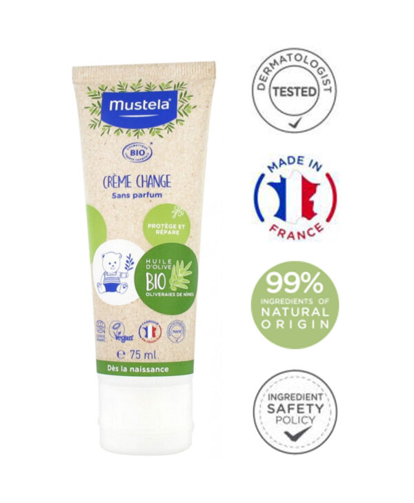 Mustela Organic Change Cream