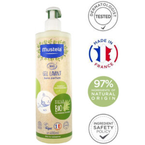 Mustela Organic Cleansing Gel
