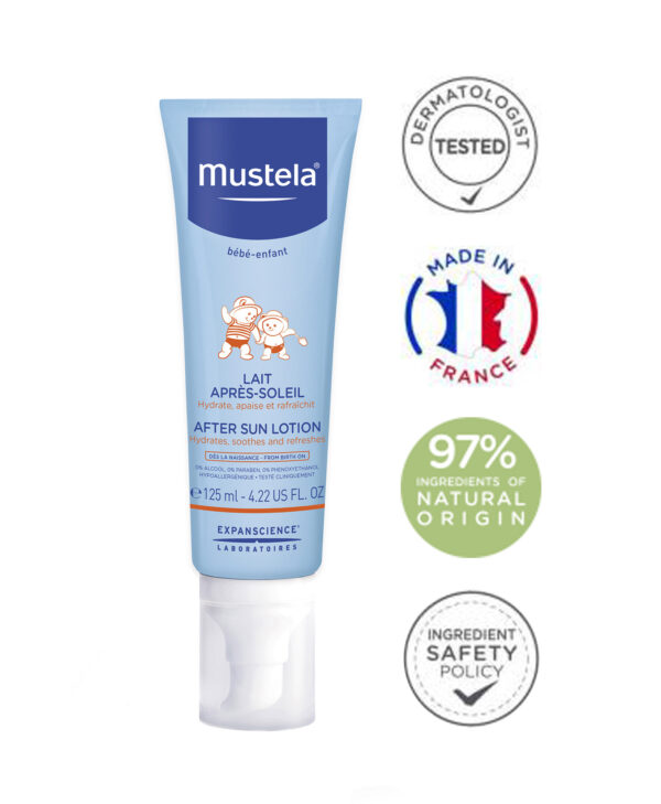 Mustela After-sun lotion