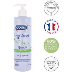 Dodie cleansing gel 3 in 1 / Mycí gel 3 v 1 500 ml