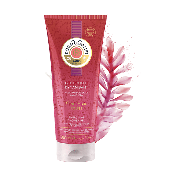 Roger & Gallet Red Ginger Energising Shower Gel 200 ml / Sprchový gel červený zázvor 200 ml