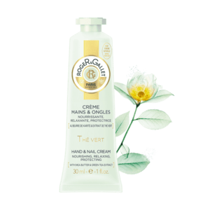Roger & Gallet Green Tea Hand and Nail Cream 30 ml / Krém na ruce a nehty - zelený čaj 30 ml