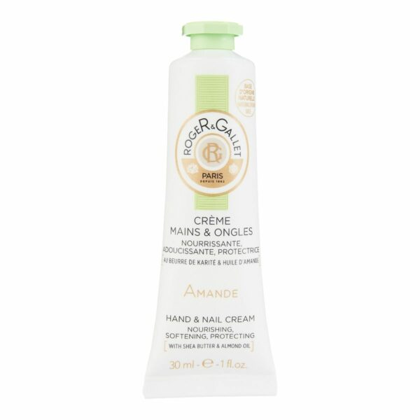 Roger & Gallet Almond Hand and Nail Cream 30 ml / Krém na ruce a nehty - mandlový 30 ml