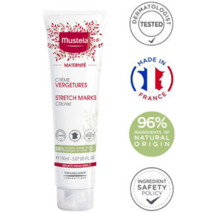 Mustela Maternité tělový krém na strie bez parfemace / Mustela Maternity Stretch Marks Cream with Fragrance 150 ml